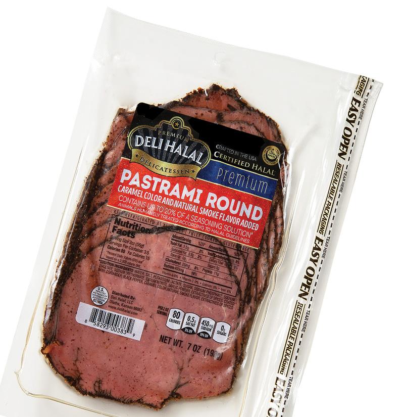 Deli Halal Beef Pastrami