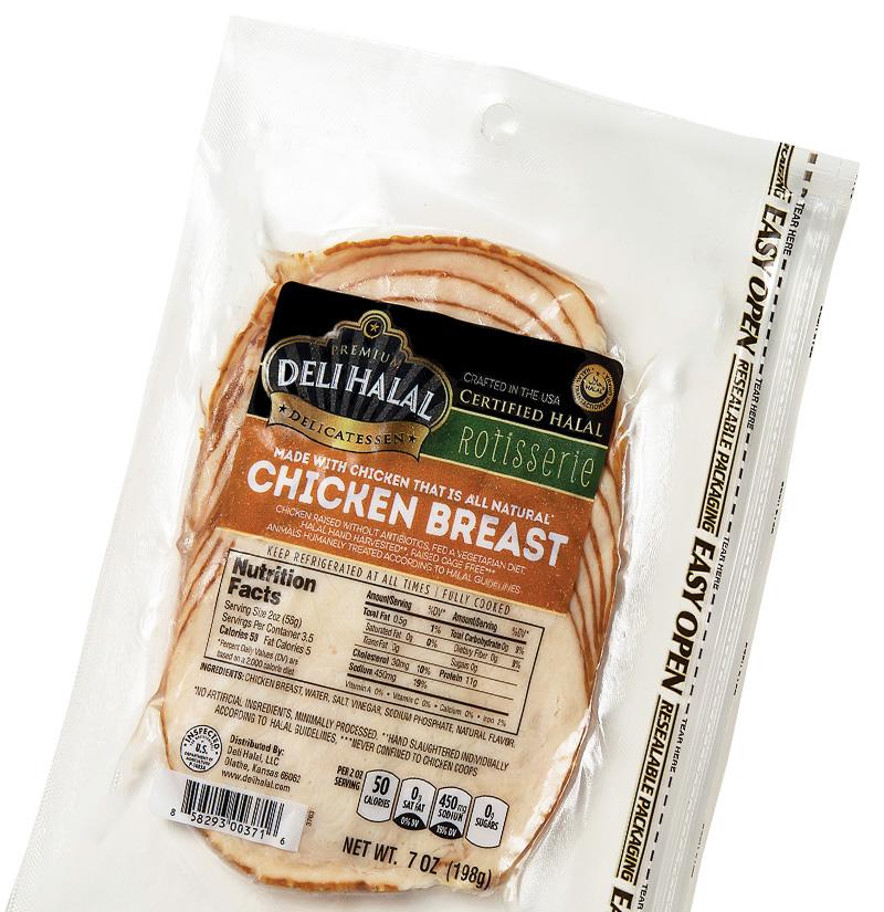 Deli Halal Beef Salami