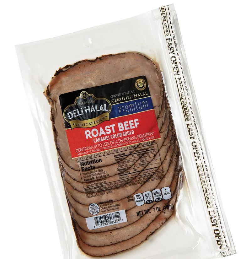 Deli Halal Roast Beef